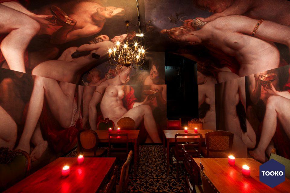 Diner partij orgie