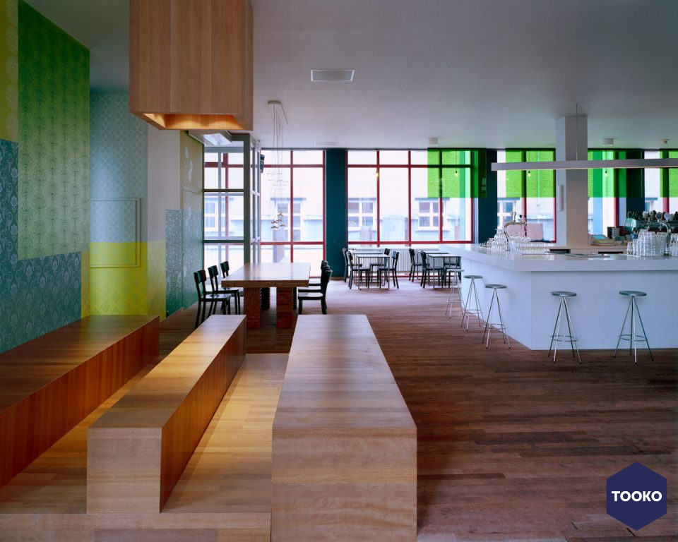Maurice Mentjens / Interior Design - Ipanema Grand Cafe Bonnefantenmuseum