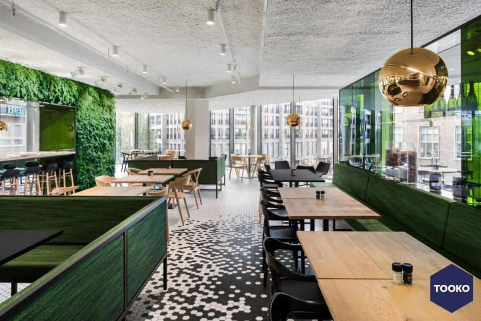 i29 interior architects - De Bijenkorf Utrecht Restaurant