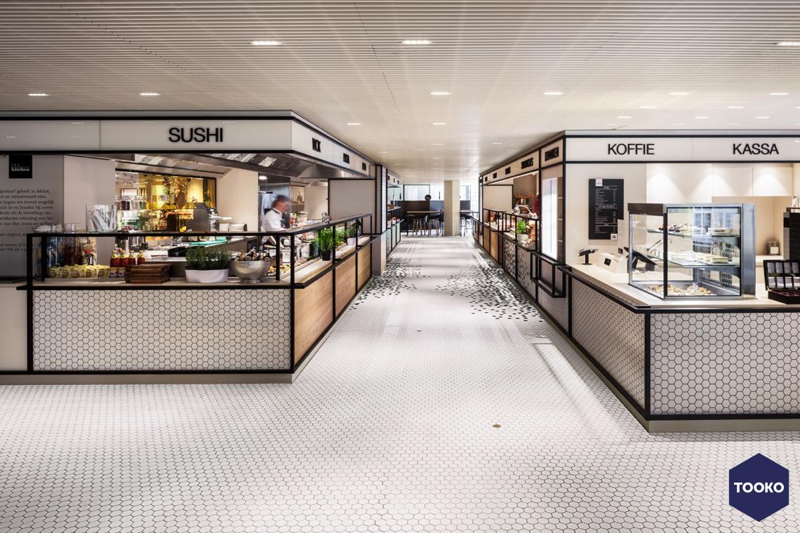 Sanitair Outlet Utrecht : De bijenkorf utrecht restaurant tooko inspiratie voor een