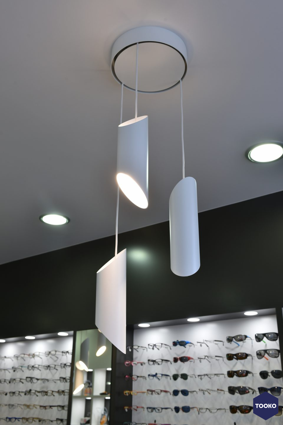 QTD Interieur architecten - Optiek Ann Brands Wijnegem