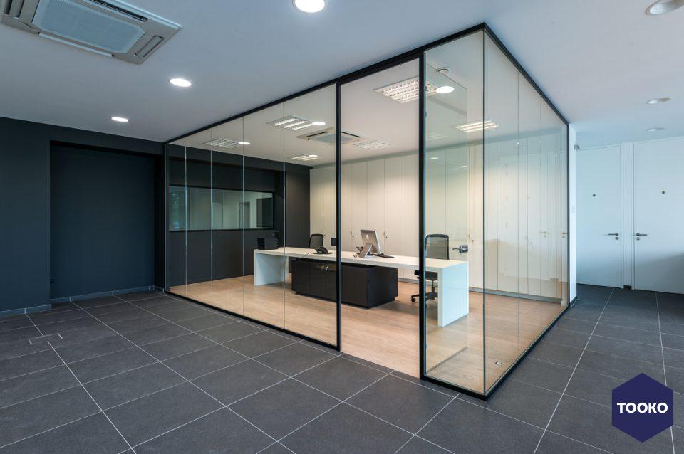 QTD Interieur architecten - Kantoorproject Oostende