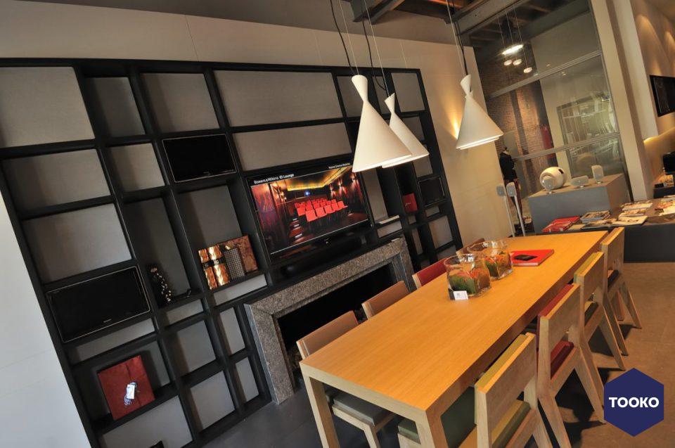 Bowers & Wilkins high-end luidsprekers - Bowers & Wilkins ID Lounge Antwerpen