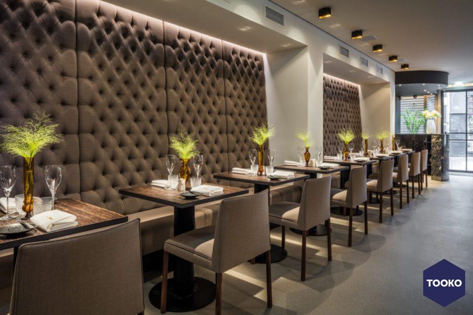 Restaurant wiesen tooko inspiratie voor een exclusieve werkomgeving