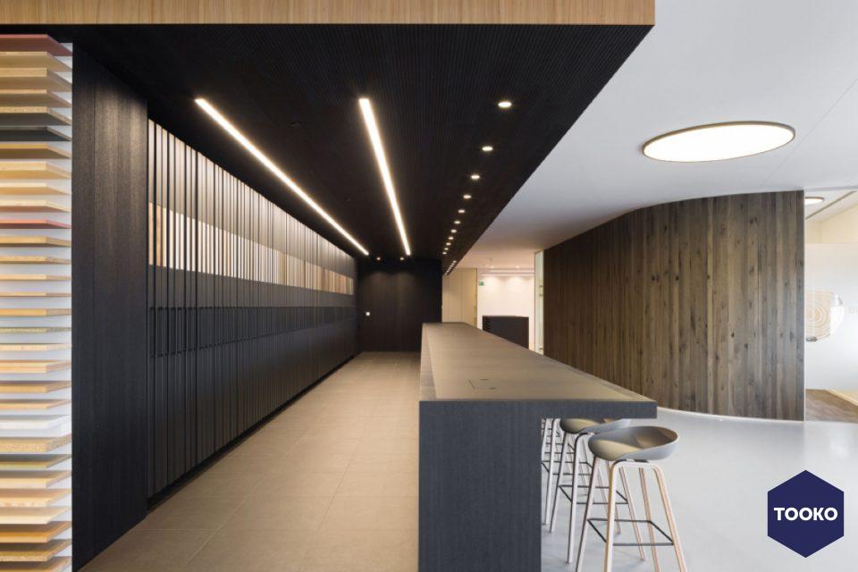 Delta Light - Showroom  Decospan