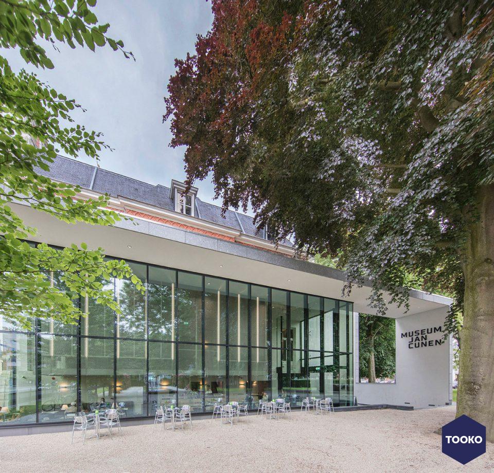 De Twee Snoeken architectuur - Museum Jan Cunen