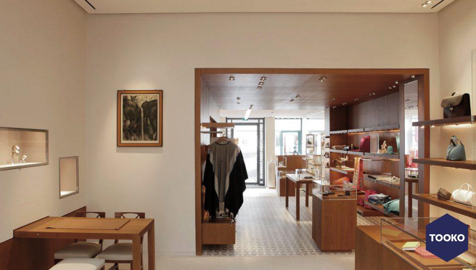 Hermès maastricht tooko inspiratie voor een exclusieve werkomgeving