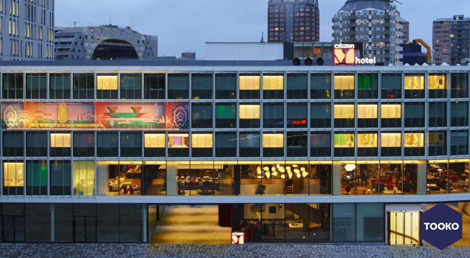 EeStairs - Hotel citizenM Rotterdam
