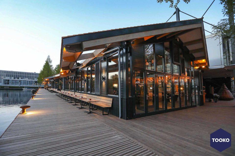 Restaurant beachclub strandzuid tooko inspiratie voor een