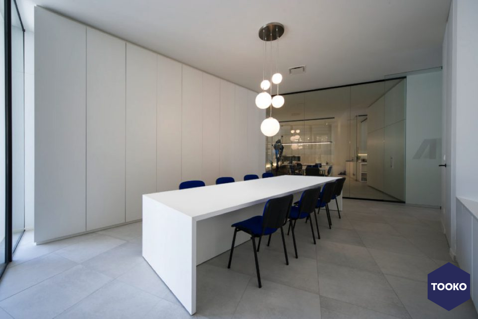 imore interieur architectuur - Office Assur Invest
