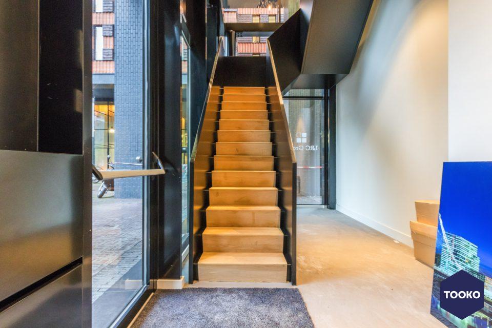 Van Bruchem Staircases - Trap kantoorpand Amsterdam