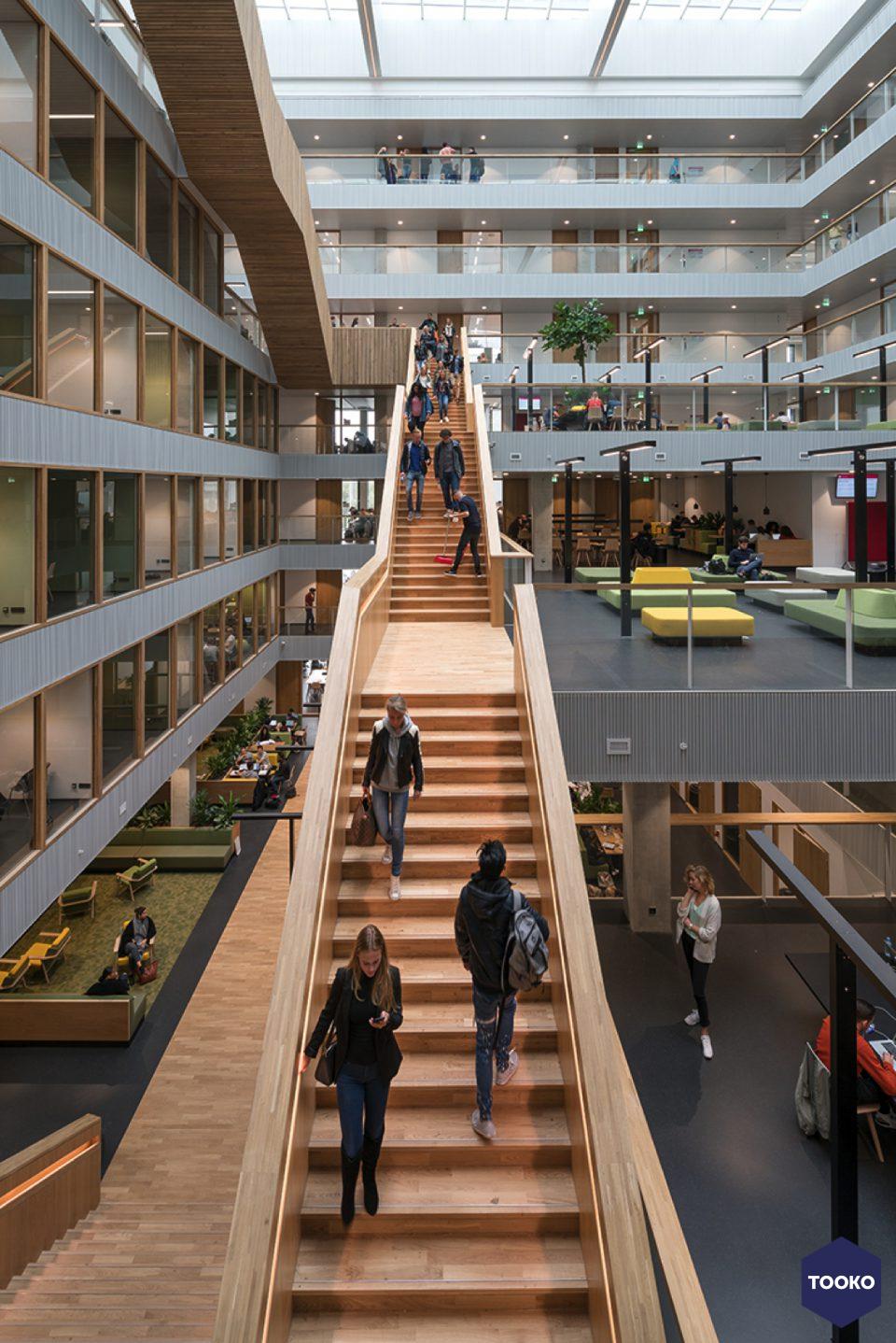 Paul de Ruiter Architects - Hogeschool Rotterdam