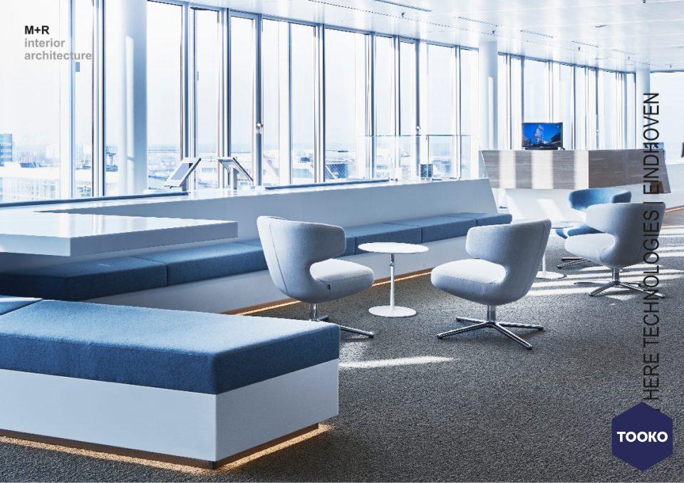 M+R interieurarchitecten - HERE Technologies office Eindhoven