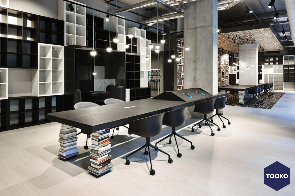 M+R interieurarchitecten - ILGE My Bookstore My Workspace