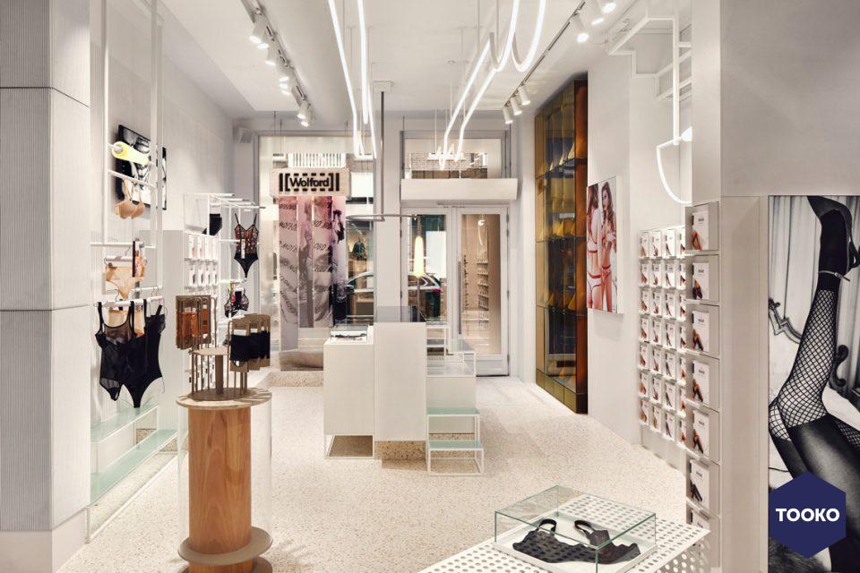 STUDIO MODIJEFSKY - Wolford P.C. Hooftstraat store