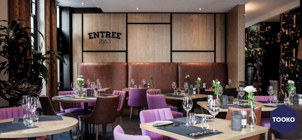 Delade Interieurbouw - Interieur restaurant Entree 1863