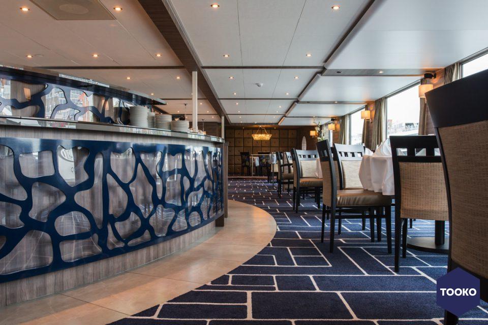 Delade Interieurbouw - Interieur rivier cruiseschip