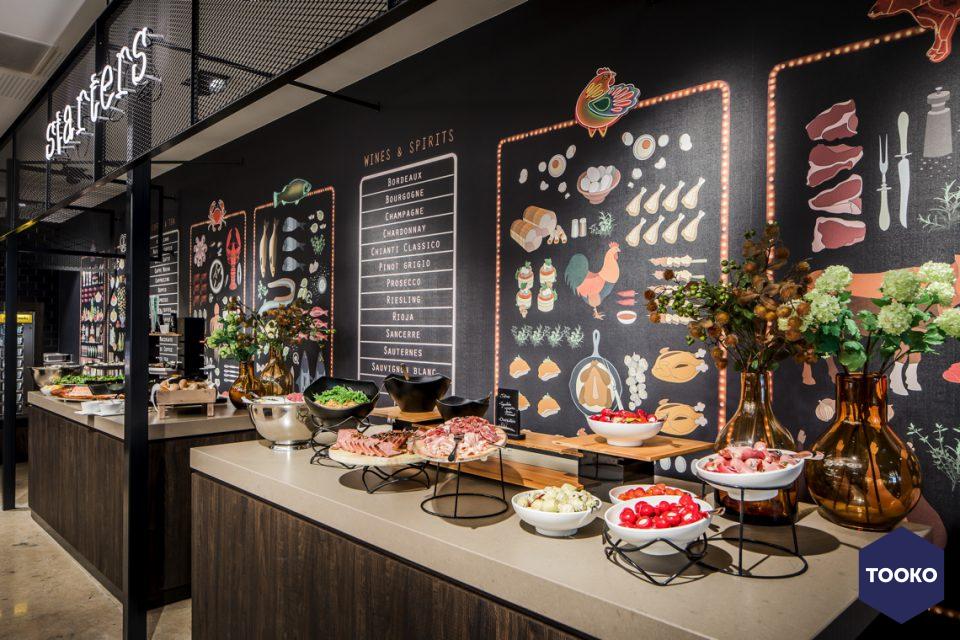 Masterstone - Project Van der Valk Enschede wellness & cooking