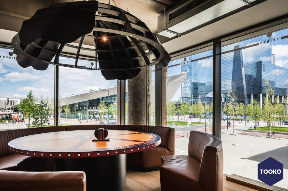 SANT Interiors - Tribes Rotterdam Centraal Station