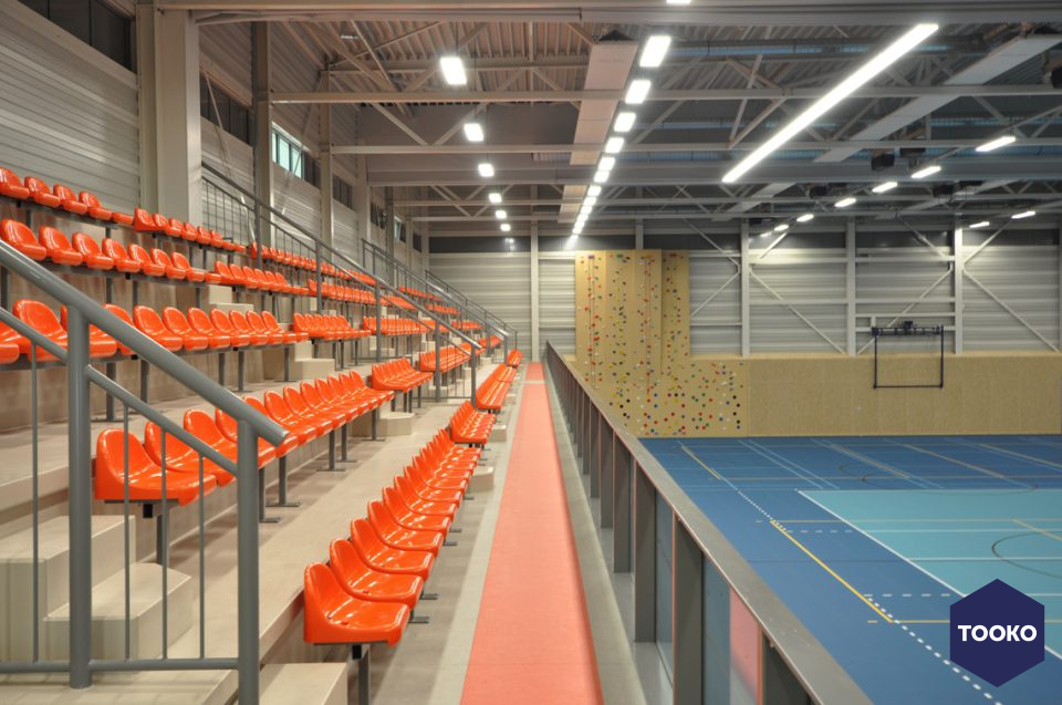 AGS ARCHITECTS - Ede Topsportcomplex – Van der Knaaphal