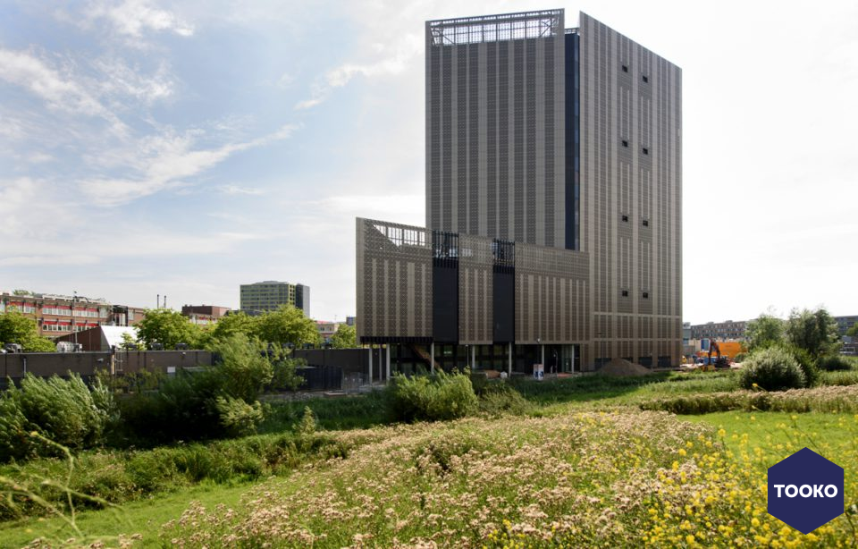 AGS ARCHITECTS - Nieuwbouw Amsterdam Data Tower op het Science Park te Amsterdam