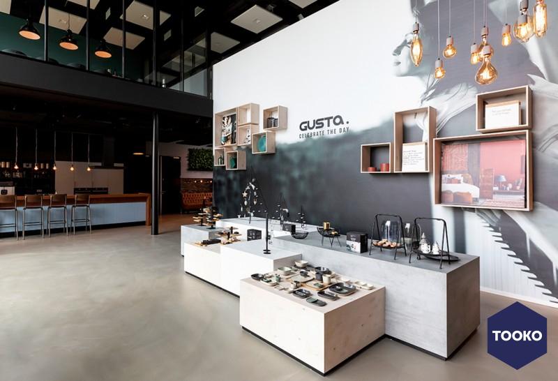 Studiomfd - Gusta showroom Breda