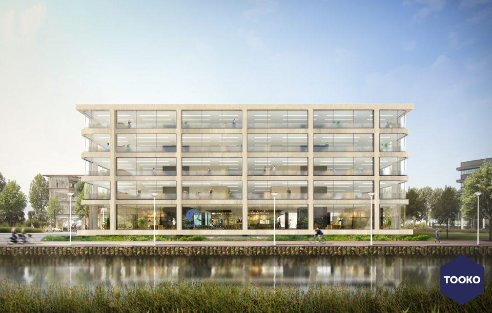 Systemair - 4 Luchtbehandelingsunits in  nieuwbouw kantoorgebouw Danone