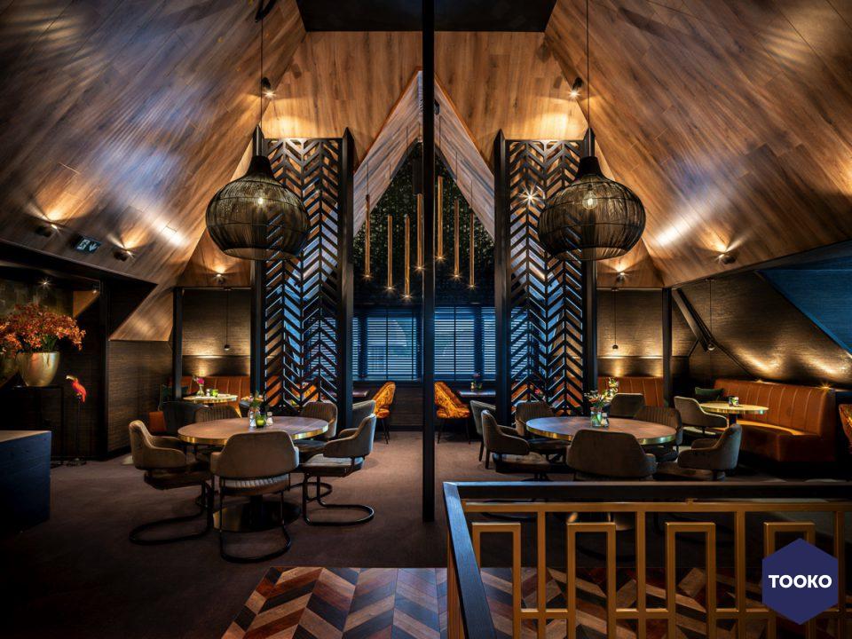 Linda Pol Interieurarchitectuur - Restaurant De Witkamp Laren