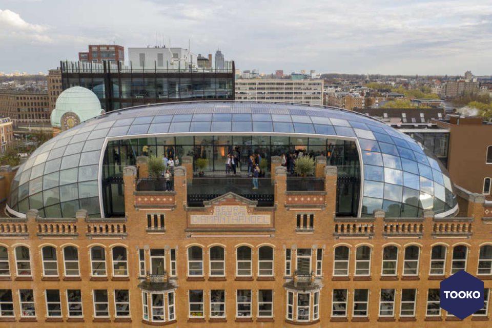 ZJA Zwarts & Jansma Architecten - Capital C, Diamantbeurs, Amsterdam