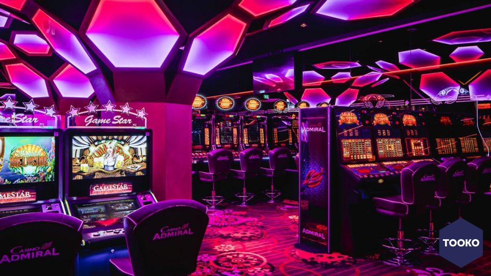 Dofine wall floor creations - Casino Admiral in Heerlen