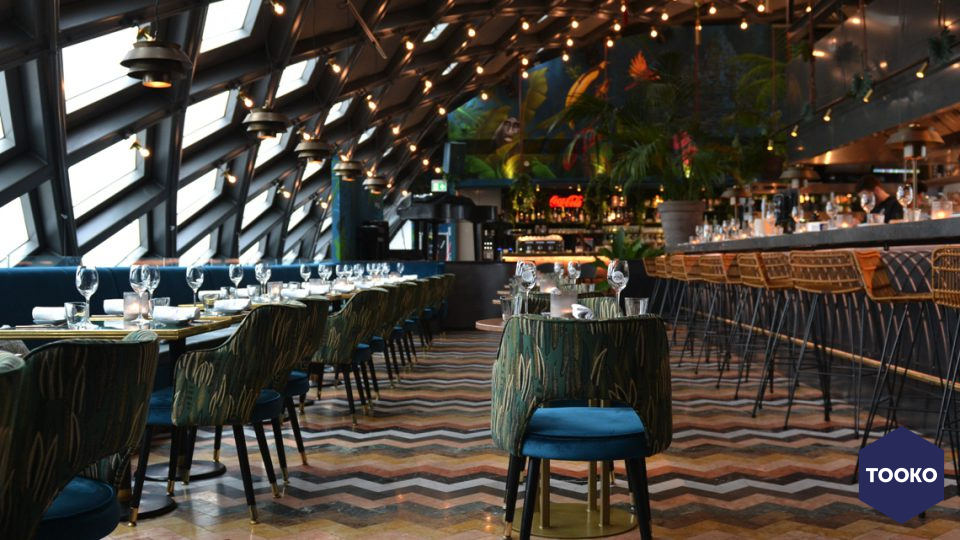 Dofine wall floor creations - Ron Gastrobar Downtown