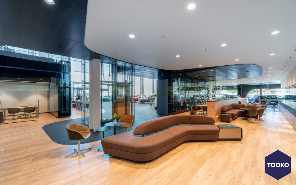 Ibelings van Tilburg architecten - Flagshipstore Mercedes-Benz Den Haag