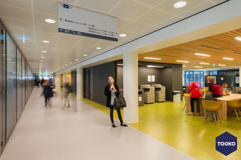 OIII architecten - HVA Wibautshuis Amsterdam