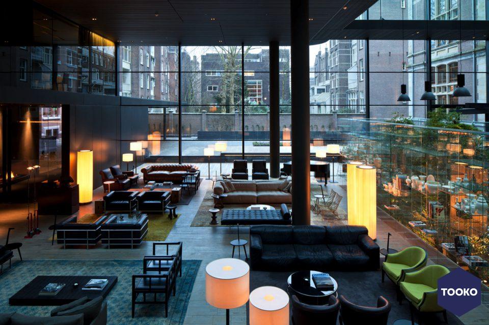 OIII architecten - Conservatorium Hotel, Amsterdam