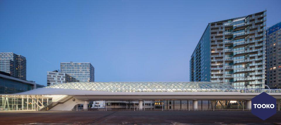 ZJA Zwarts & Jansma Architecten - Startstation E-lijn, Den Haag