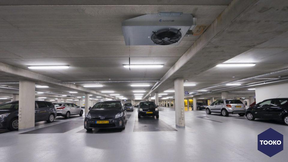Systemair - Nieuwe ventilatie voor parkeergarage Oosterpoort in Nijkerk