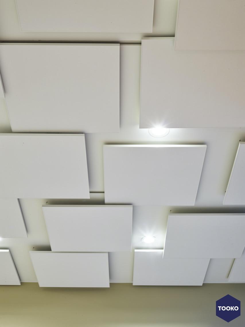 No-noise - Akoestische plafondpanelen project Geel