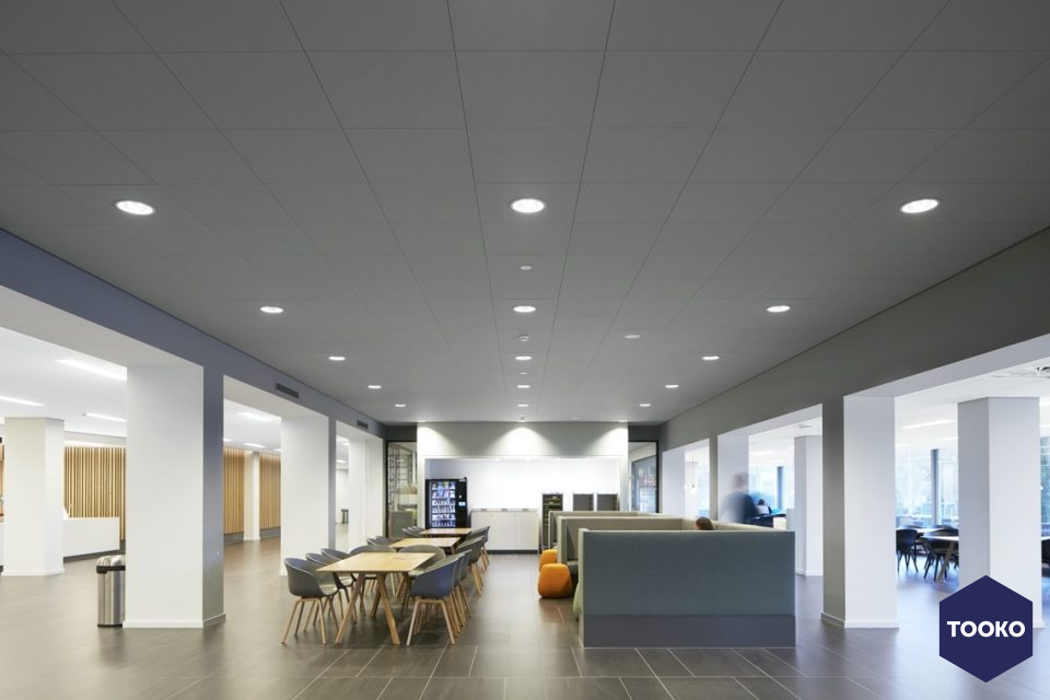 Saint-Gobain Ecophon - Herinrichting VU Amsterdam – Nieuw elan met heldere structuur