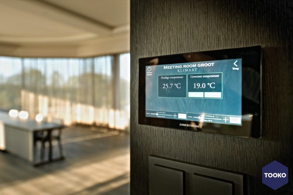 JNV audiovisuele smaakmakers - Domotica golfbaan Cromvoirt