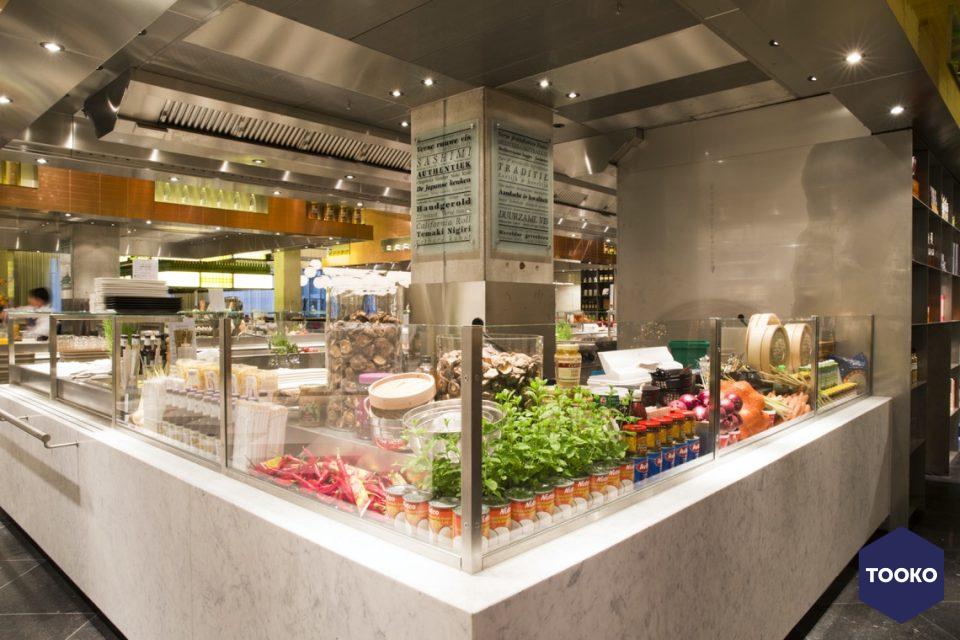 Metos professionele keukens en spoelkeukens - Keuken De Bijenkorf Eindhoven