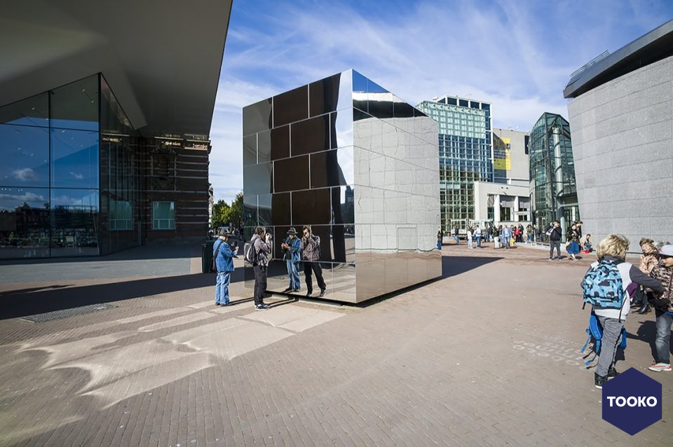 Architectural Materials Amsterdam - MIRROR CUBE