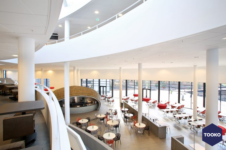 Metos professionele keukens en spoelkeukens - Keuken in restaurant Achmea