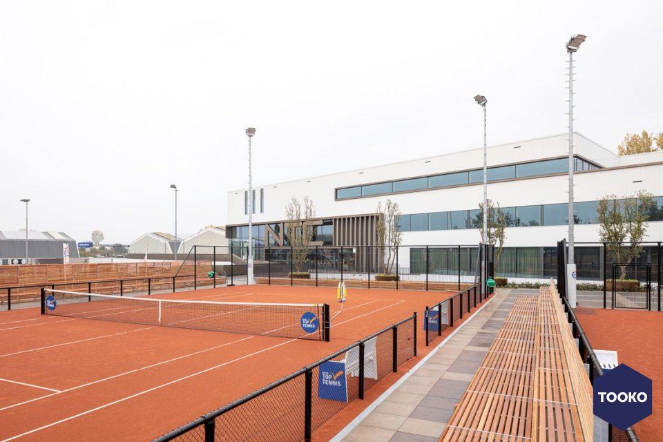 Hal2 Ruimtevormgevers - Hier ademt het enkel tennis