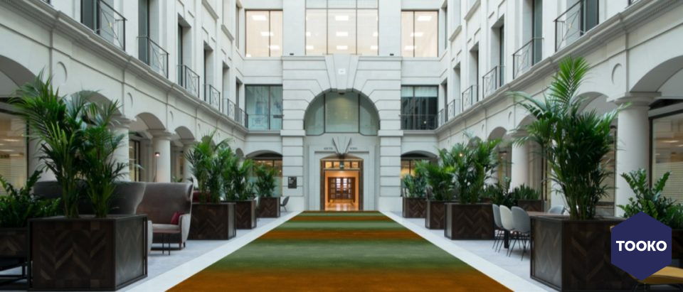 CS rugs - Vintners place London