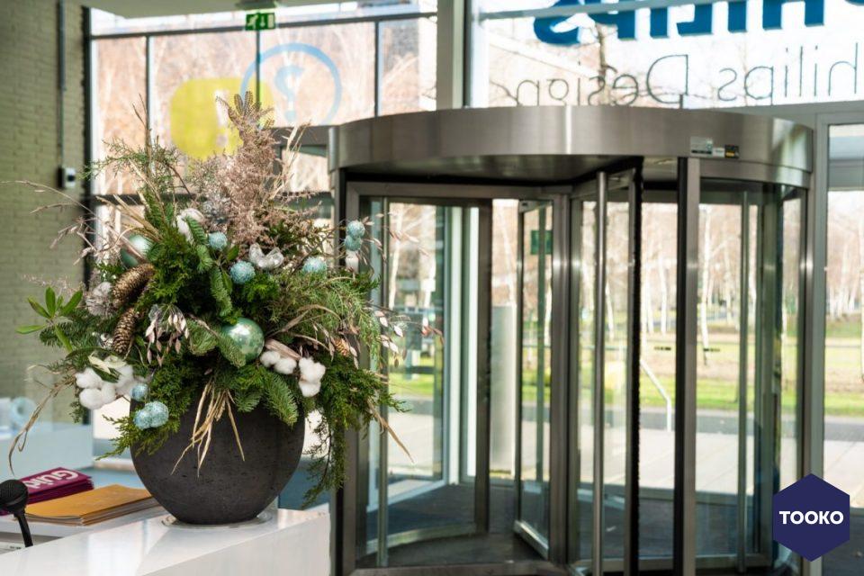 Interieurbeplanting De Klerk - Kerstdecoratie Philips