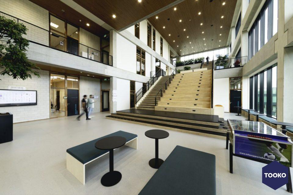 Interieurbeplanting De Klerk - Project Fontys R10 te Eindhoven