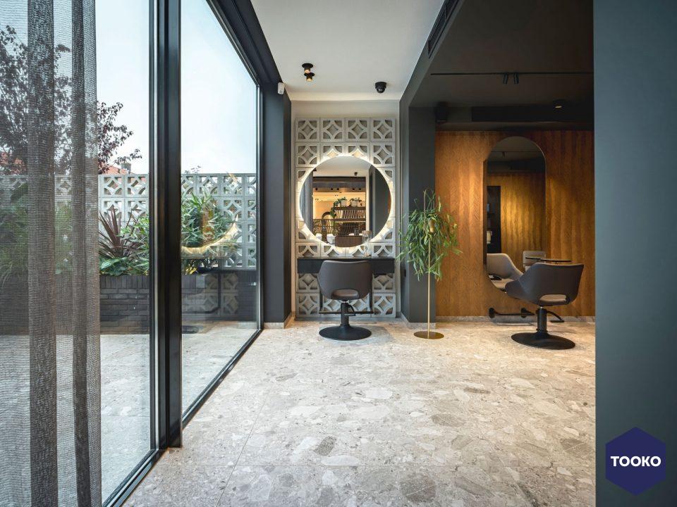 Jeroen de Nijs architect – interior BNI - Kapsalon Bosman, Alkmaar