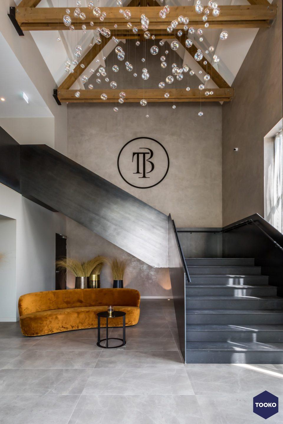 Van Bruchem Staircases - Stalen trap voor hotel Cadzand
